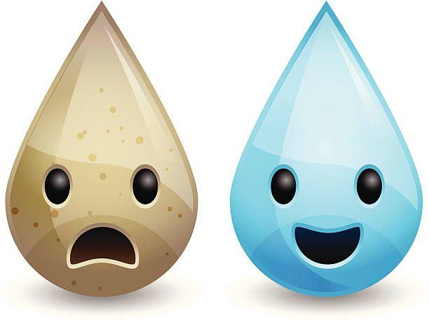 Agua sucia y agua limpia